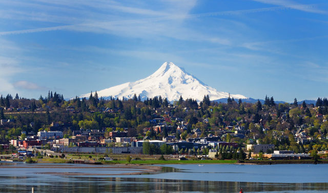 Mt. Hood and Hood River